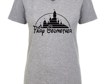Godmother, godmother gift ,aunt shirt, fairy godmother ,godparent gift ,godmother shirt ,baby shower gifts, first time aunts godmother gifts