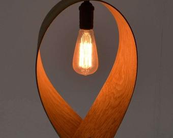 Oak Steam Bent Lampshade