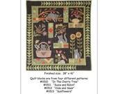 """QUILTING FUN (Pattern Set): """"Susie's World"""" ( Four Patterns) - Design by Bonnie Sullivan (All Through The Night)"""
