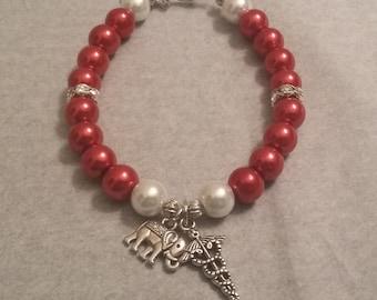 Delta sigma theta gifts etsy for Delta sigma theta jewelry