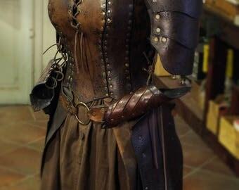 "Female armor/corset ""Cybele full set"""