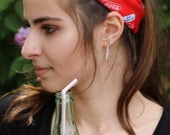 Coca Cola Tie-Up Cotton Bandana
