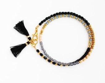 Wrap Bracelet Beaded Wrap Bracelet Beaded Bracelet Seed Bead Bracelet Delicate Bracelet Friendship Bracelet Bridesmaid Gift