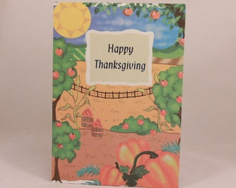 Hi-Lites by Majestic Thanksgiving Greeting Card. One Card and Envelope