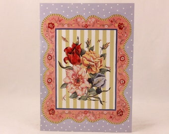 NEW! Vintage Happy Birthday by Andrews McMeel. 1 Card and 1 Envelope included.