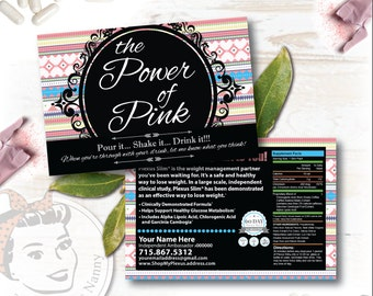 Plexus Slim Sample Card - Aztec - Free Shipping