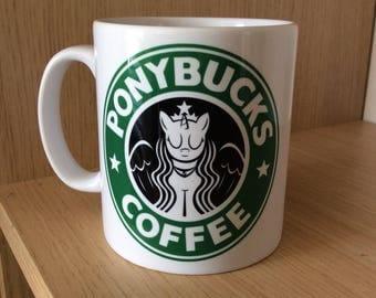 My Little Pony Inspired Coffee Mug