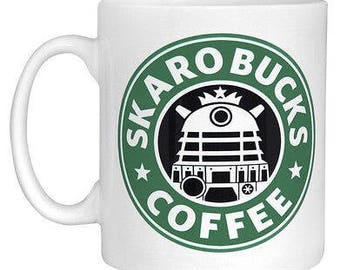 Daleks Inspired Skaro Coffee Mug