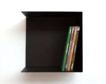 IZI / Steel shelf / wall mounted shelf / uniform modular book-shelf