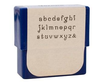 Verona Alphabet Stamp Set - 2 mm Lower Case Metal Marking Stamping Jewelry Tool - PUN-730.00