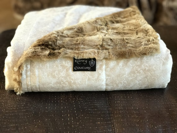 Luxury Weighted Blanket Glass Beads