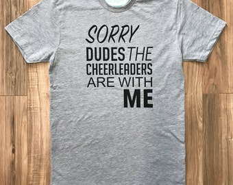 Cheerleader Shirt for Dudes