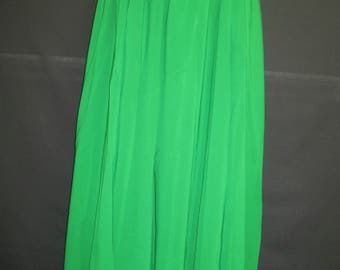 T. Length Chiffon Skirt