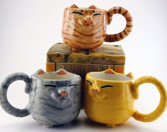 Happy Kitty Mug™ - Tabby