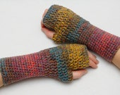 Fingerless Gloves Arm Warmers Wrist warmers Hand warmers Womens Gloves Crochet Gloves Girlfriend Gift for Wife Gift Winter Gloves for women