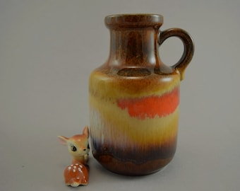 Vintage vase / Scheurich / 414 16 | West Germany | WGP | 60s