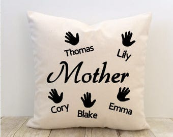 Mother's Day Pillow Cover, Mom Pillow Cover, Grandma Pillow Cover, Nana Pillow Cover, Love Pillow Cover