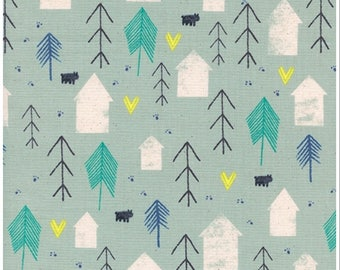 1 Yard Cozy by Cotton and Steel- 5147-02 Neighbor Mint
