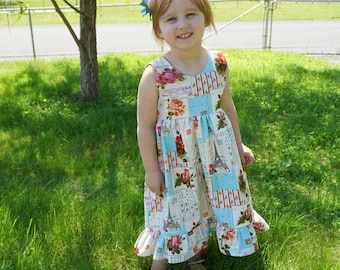 PATRICIA Girls ruffle DRESS, Ruffle dress, Girls dress, Toddler girls dress, Pageant dress, Flower girl dress