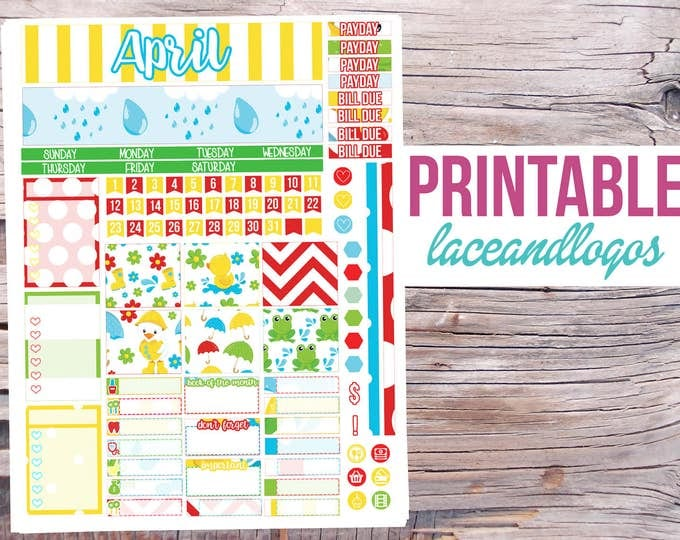 FREE Financial Printable Planner !  Blessed Beyond A Doubt