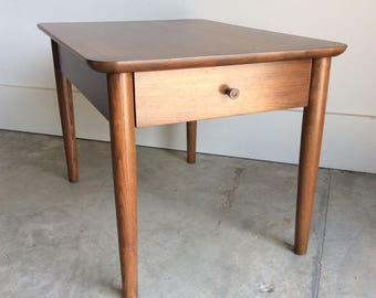 Mid Century End Table / Side Table by Stanley