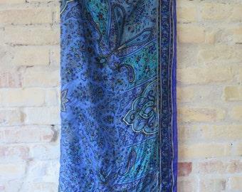 Vintage silk paisley scart