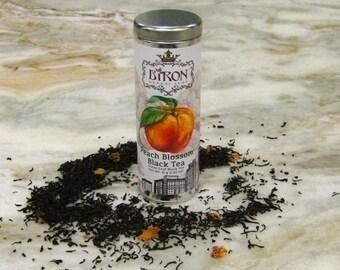 Peach Blossom Loose Leaf Black Tea - Artisan Crafted Loose Leaf Tea - Biron Herbal Tea