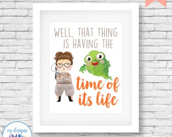 Ghostbusters Abby Printable, 8x10 Ghostbusters Sign, Ghostbusters Digital Printable, Girl Ghostbusters