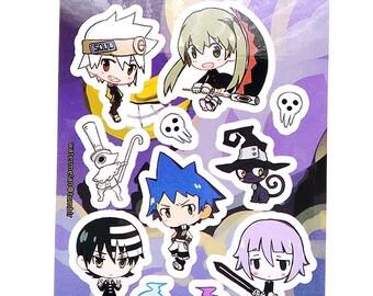 """SALE: 3x4"""" Kiss Cut Sticker Sheet"""