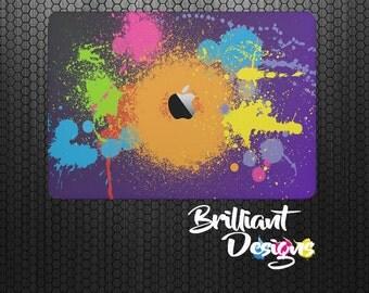 Paint Splatter macbook decal macbook skin macbook sticker Macbook Air 11 Macbook Air 13 &Mac Pro 13 Retina Macbook 12 Macbook Pro 15 Retina