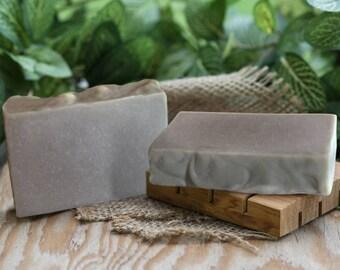 Rhassoul Clay Soap, handmade clay soap, vegan soap