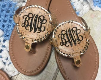 Personalized Disc Sandals