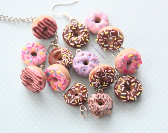 Doughnut Charm, Necklace, Planner Charm