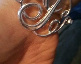 "Beautiful ""J"" bracelet"