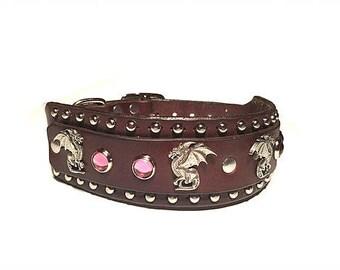 Leather Dog Collar, Latigo Leather collar, dog, dog collar, dog collars, custom dog collar, thick leather dog collar, big dog collar