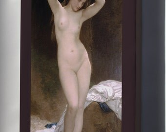 Canvas 24x36; Bather  William-Adolphe Bouguereau (1825-1905) - Bather (1870