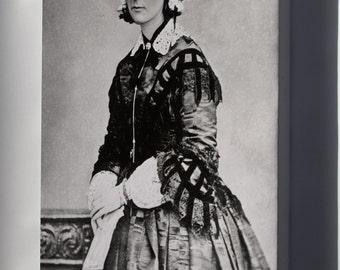 Canvas 24x36; Florence Nightingale P1