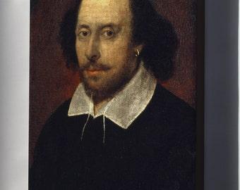 Canvas 24x36; William Shakespeare Chandos Portrait