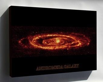Canvas 16x24; Andromeda Galaxy Taken By Spitzer P3 - Copy