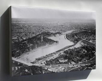 Canvas 16x24; Aerial View Of Philadelphia