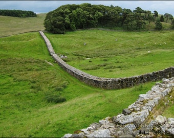 16x24 Poster; Hadrian'S Wall P2 With Knag Burn Gateway In The Valley