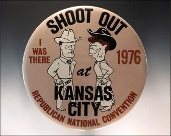 16x24 Poster; 1976 Campaign Button E