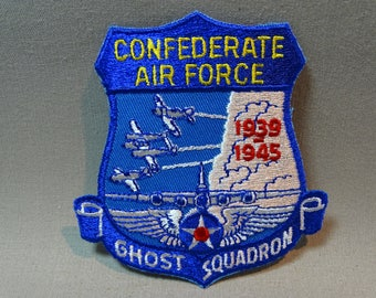 Confederate Air Force Ghost Squadron Patch 1939-1945 Five Available