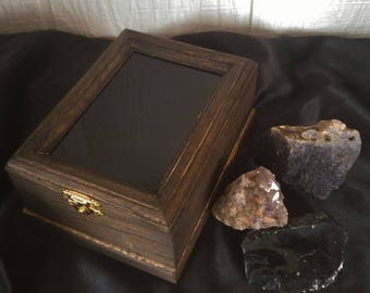 Scrying Box with Crystals