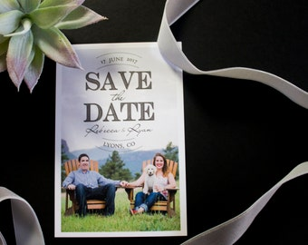 Font Mix Save the Date