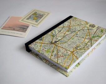 London Travel Journal, United Kingdom Travel Journal, Travel Journal with Pockets, England Travel Journal