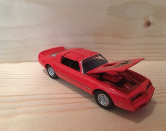 1977 Pontiac Trans Am, limited edition, greenlight hollywood, 1:64 die-cast metal