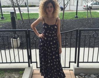 90's Seashell Maxi Dress