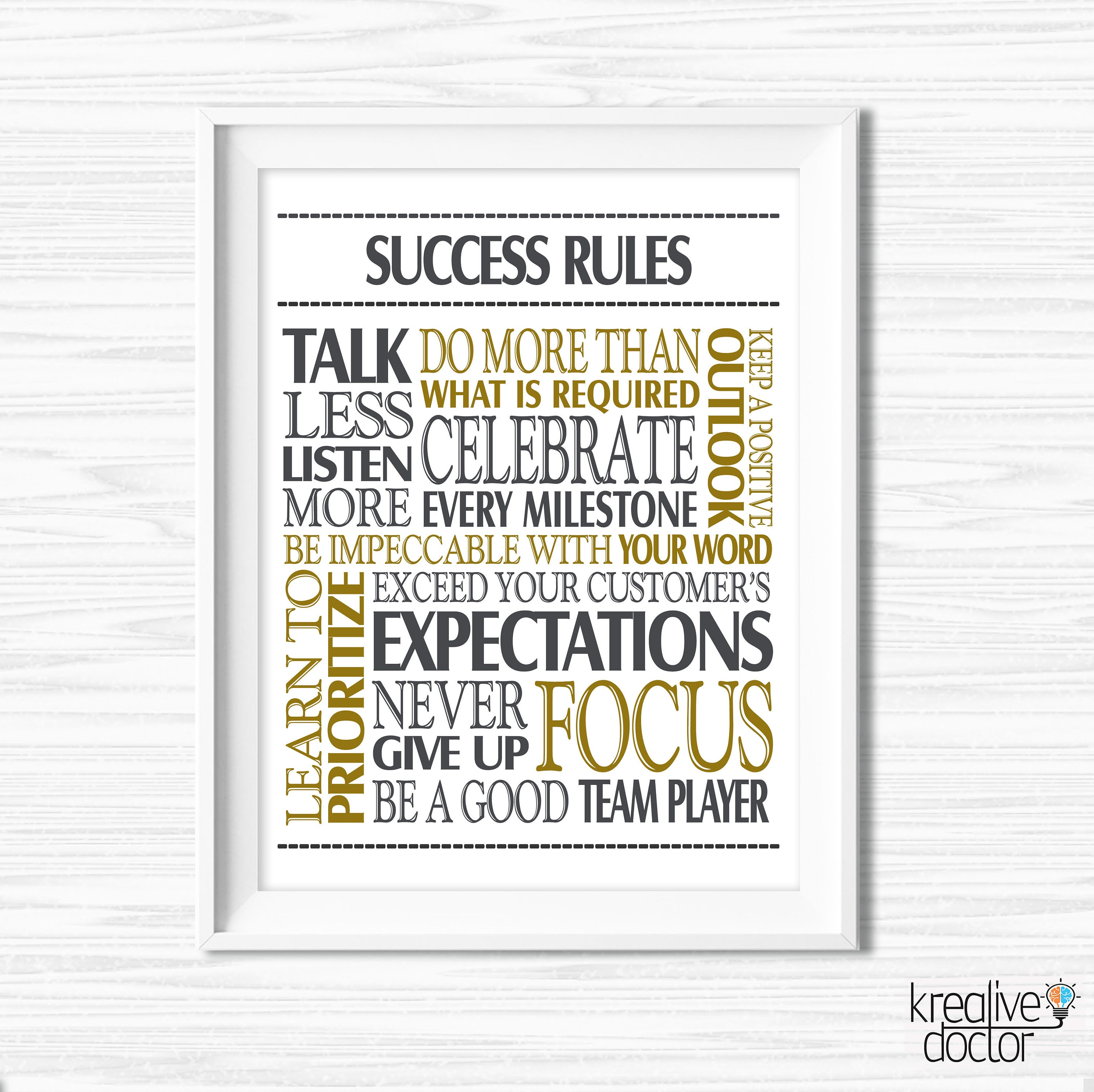 Inspirational Quotes Office Work: Success Quotes Office Wall Art Printable Office Teamwork