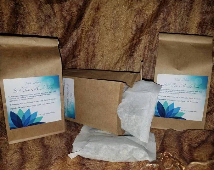 Bath Tea: Muscle Soak